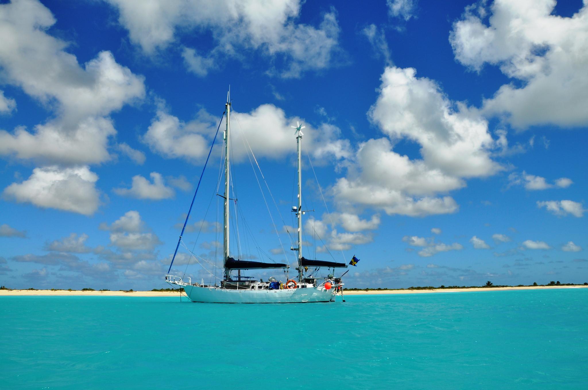 båt segla de sju haven