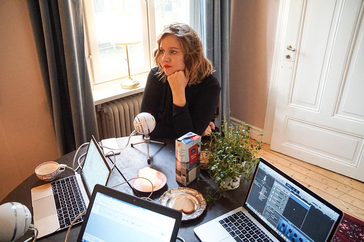 resa med tåg Clara Lidström