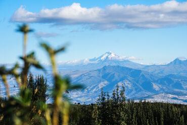 att resa till Ecuador Cotopaxi